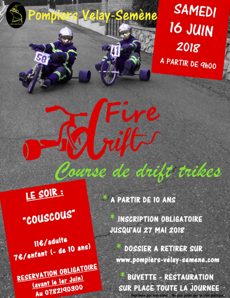 Affiche Fire Drift 2018